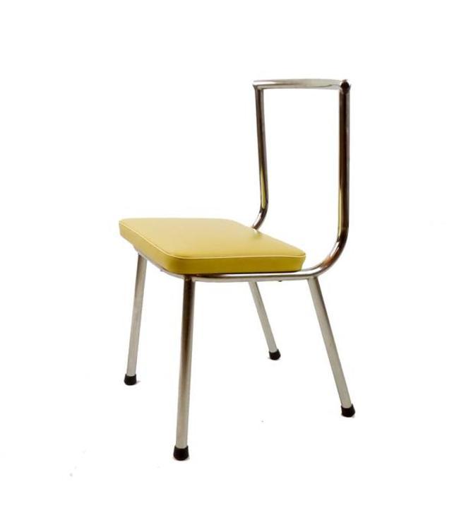 Vintage '50s buisframe stoeltje
