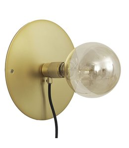 Frama CPH Wall Fitting Lamp - Brass-Medium
