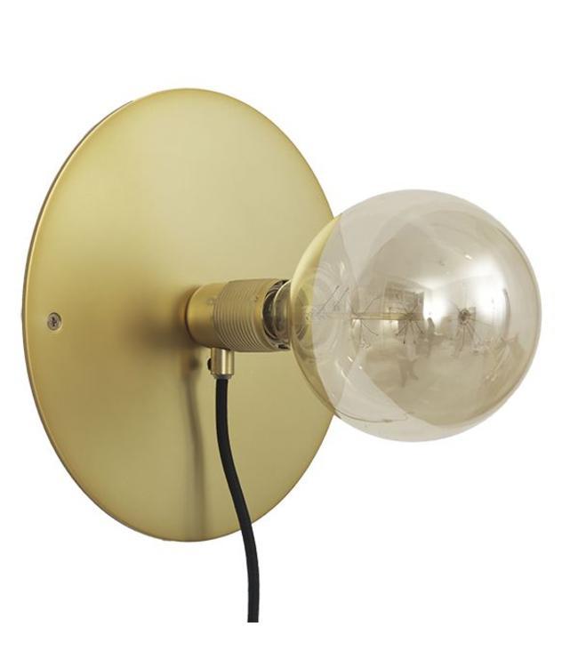 Frama CPH Wall Lamp E27 Brass | Ø 25 cm
