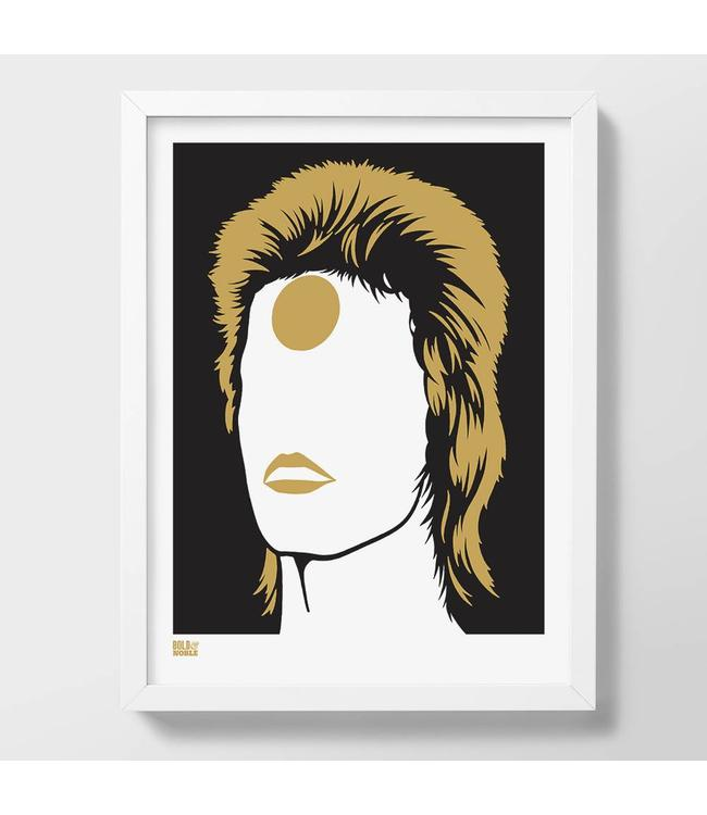 Bold & Noble Poster David Bowie as Ziggy Stardust