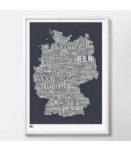 Bold & Noble Germany Screen Print