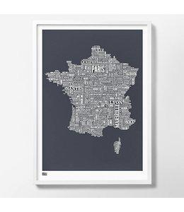 Bold & Noble France Screen Print