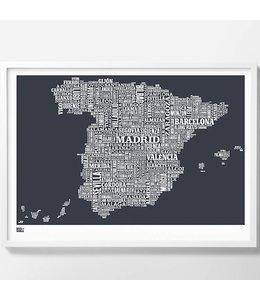 Bold & Noble Spain Screen Print