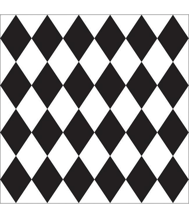 Tile Junkie Tile Sticker Harlequin pattern
