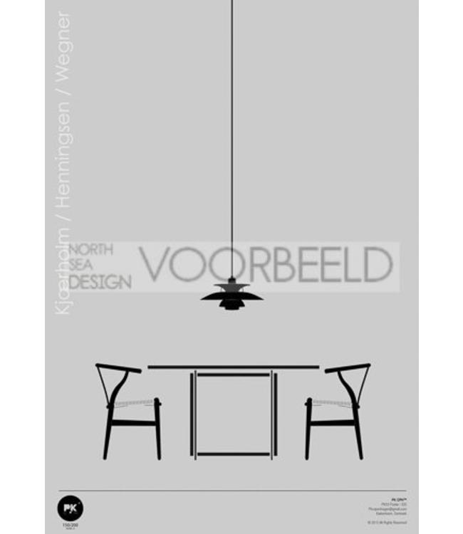 Pk Posters™ Poster Scandinavian Design Interior