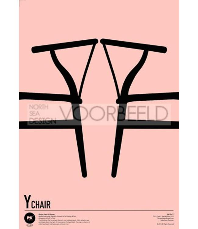 Pk Posters™ Poster Wishbone Chairs | CH24