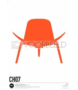 Pk Posters™ Poster Shell Chair