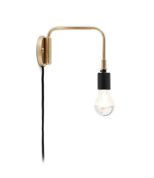 Menu Staple Lamp | Brass - Gold