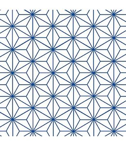 Tile Junkie Tile Sticker Star Pattern blue