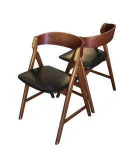 Vintage Deense Design Stoel