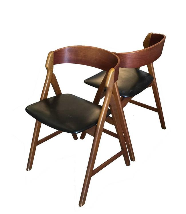 Vintage sold Deense Design Stoel '50s