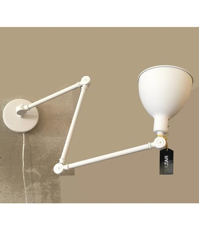 By Rydéns Bazar wall lamp | White