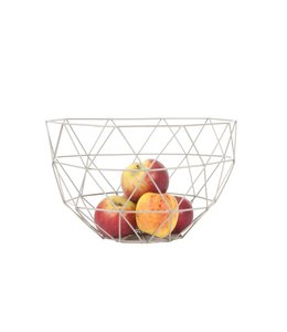 Present Time Fruit Bowl Set | Linea | Grey