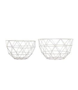 Present Time Fruit Bowl Set | Linea | Grey