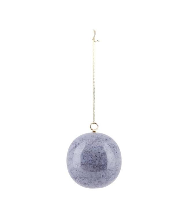 House Doctor Christmas Ornament Effects | Marble Grey| 6cm