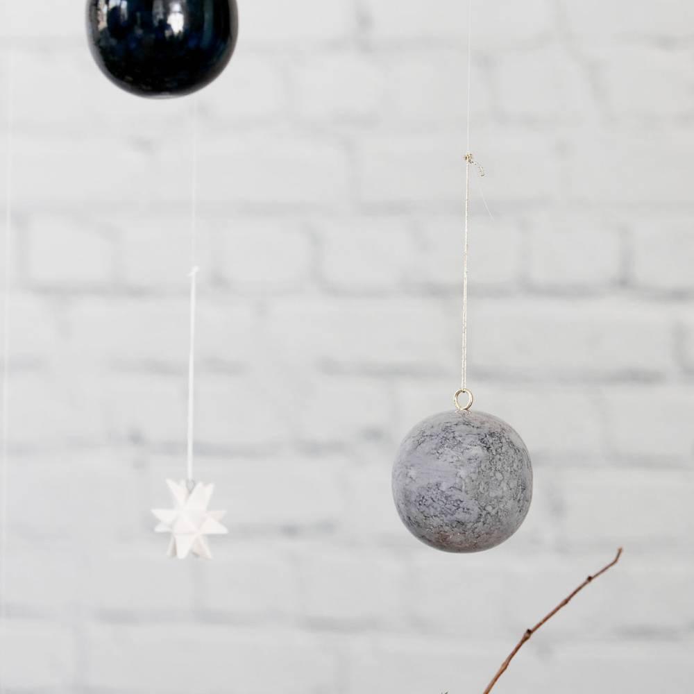 Marmer kersthanger effects van house doctor north sea design - Type marmer met foto ...