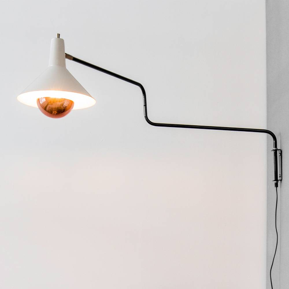 Anvia wall lamp The Paperclip at North Sea Design online - NORTH ...