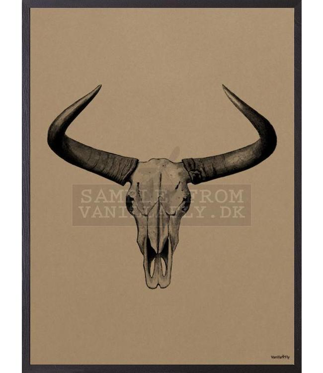 Vanilla Fly Print | BULL Mocca