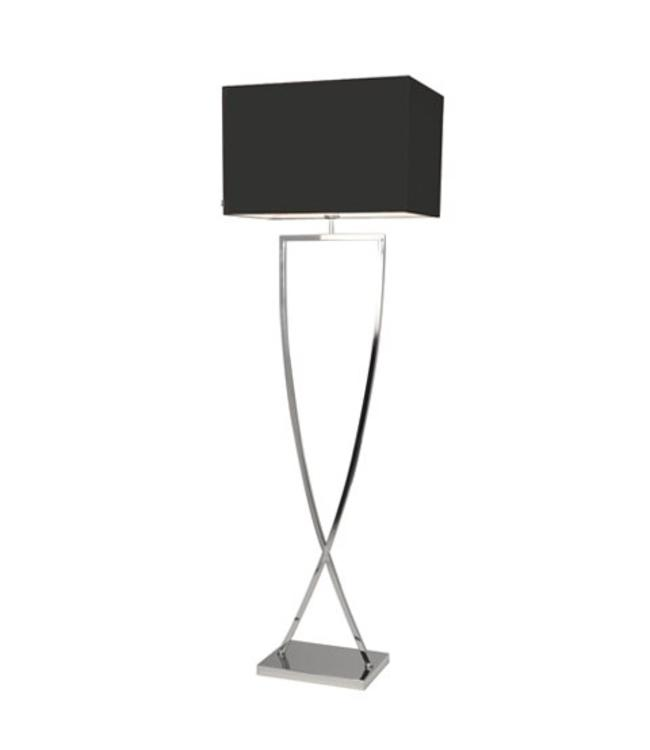 By Rydéns Omega floor lamp Chrome | Sale Showmodel