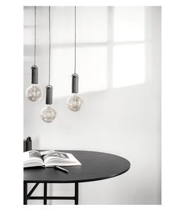 Menu Tied pendant lamp | Carbon
