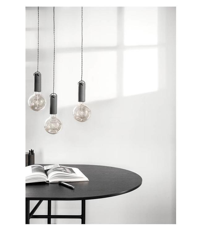 Menu Tied | Pendant Lamp | Carbon | Dark grey