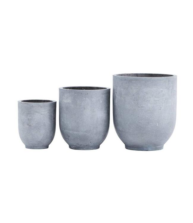 House Doctor Plantenpot Gard Set van 3