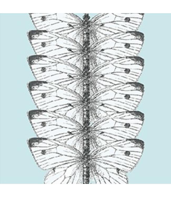Tile Junkie Transparant sticker Vlinders Transparant
