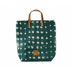 House Doctor Shopping Bag | Dots Green