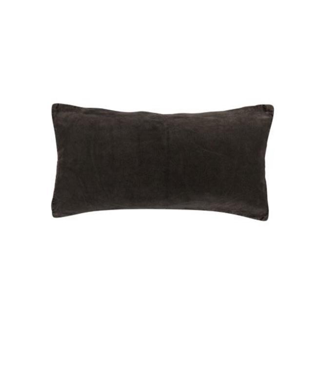 AAI Cushion Mekong Nights | Vintage Velvet | Grey