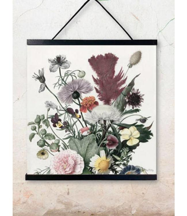Vanilla Fly Print | Flora | 50x50cm