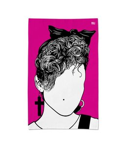 Bold & Noble Icons Tea Towel Madonna