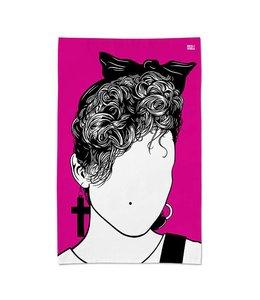 Bold & Noble Icons Tea Towel Madonna