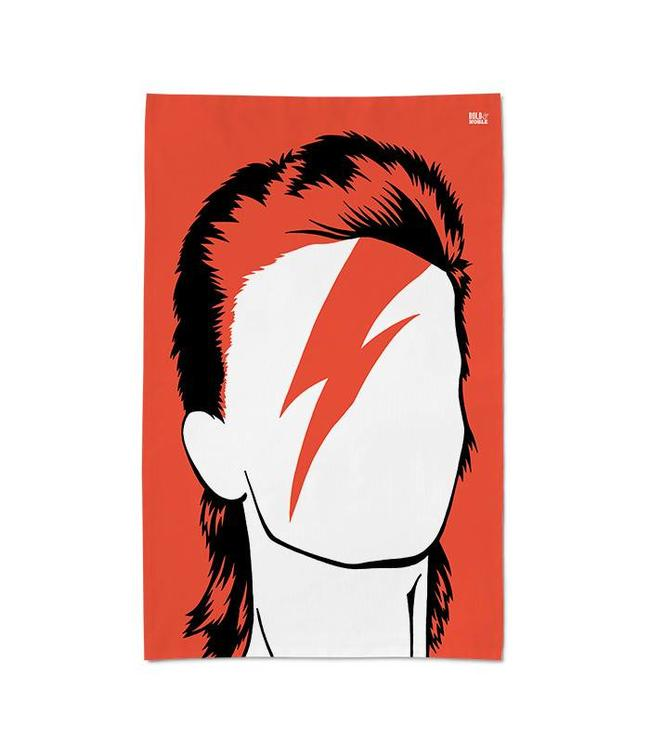 Bold & Noble Icons Tea Towel David Bowie