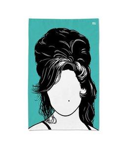Bold & Noble Tea Towel Amy Winehouse