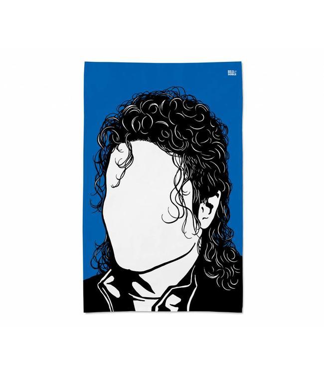 Bold & Noble Theedoek Michael Jackson