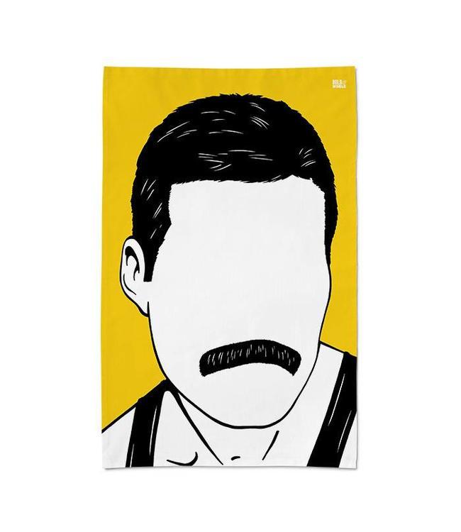 Bold & Noble Theedoek Freddie Mercury