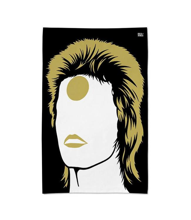 Bold & Noble Tea Towel David Bowie Ziggy