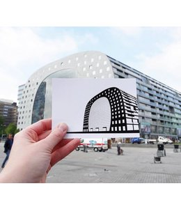 Wuudy Postcards set Rotterdam 8x