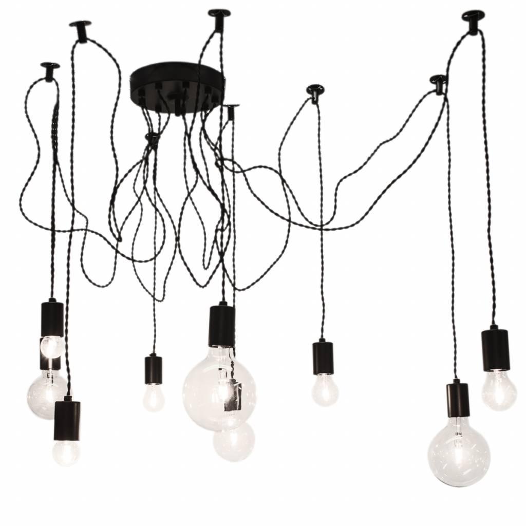 amber glas hanglamp