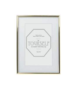 Present Time Photo Frame Lux XL | Gold