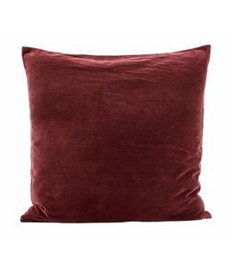 House Doctor Pillow Case Velv | Burnt Henna
