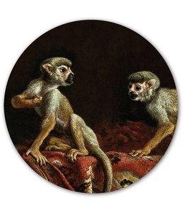 Groovy Magnets Magneetsticker Two Little Monkeys