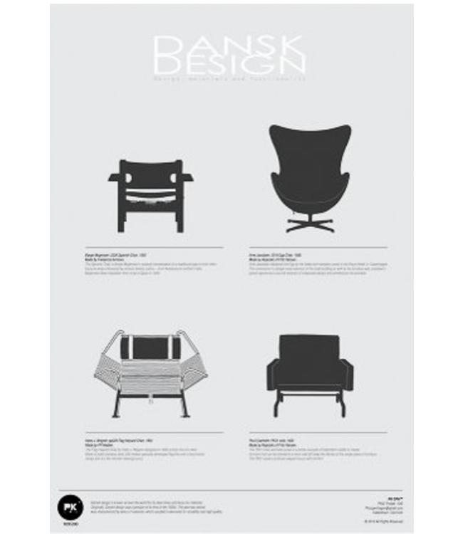 Pk Posters™ Poster Danish Design