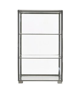 House Doctor Cabinet Glass Zinc