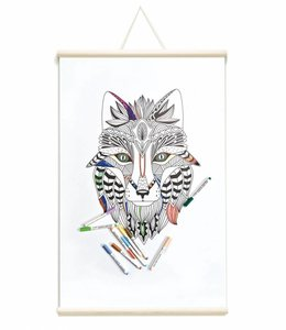 Groovy Magnets Whiteboard Magneetposter Tribal Fox