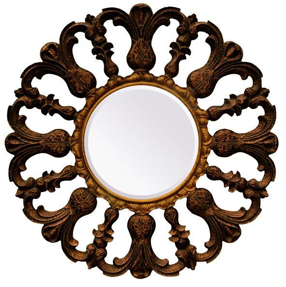 venetie gro er runder barock spiegel. Black Bedroom Furniture Sets. Home Design Ideas