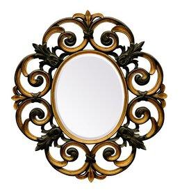 Parma - Spiegel rund Barock