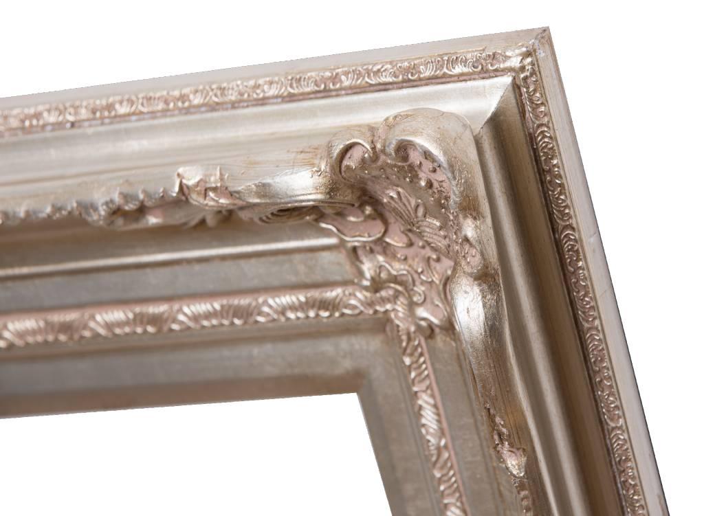 Nice - silberner Barock-Rahmen mit Ornament