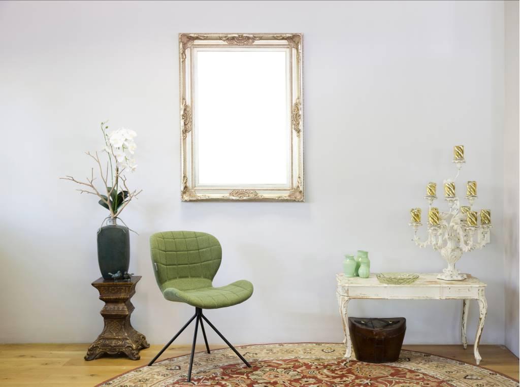 nice silberner barock rahmen mit ornament. Black Bedroom Furniture Sets. Home Design Ideas