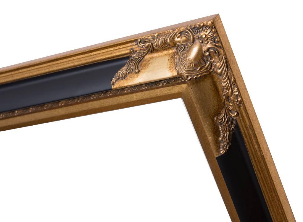 Naples - Goldschwarzer Rahmen